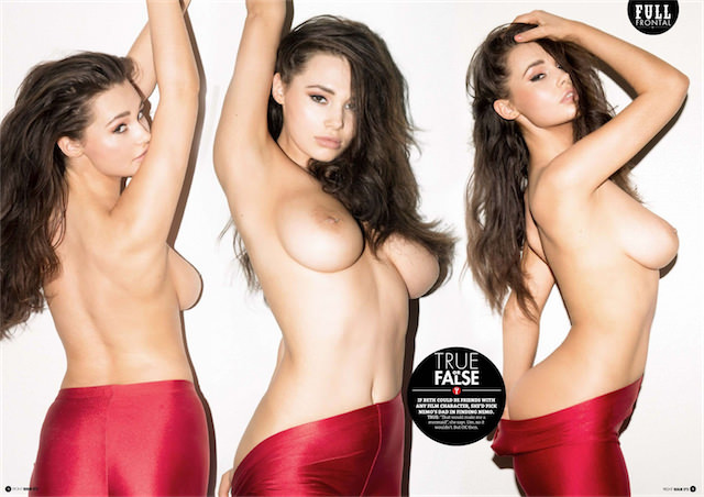 Front magazine topless pictures — 4